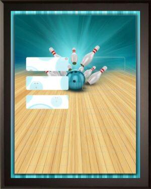 Aqua Bowling - 12 Plate Perpetual Plaque