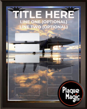 Air Force - 12 Plate Perpetual Plaque