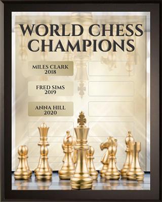 World Chess Game Champions