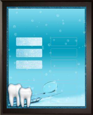 Dentist - 12 Plate Perpetual Plaque