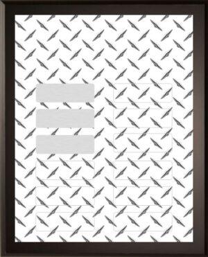 Diamond Design - 12 Plate Perpetual Plaque