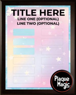 Dreams - 12 Plate Perpetual Plaque