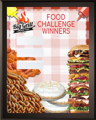Food Challenge Winners