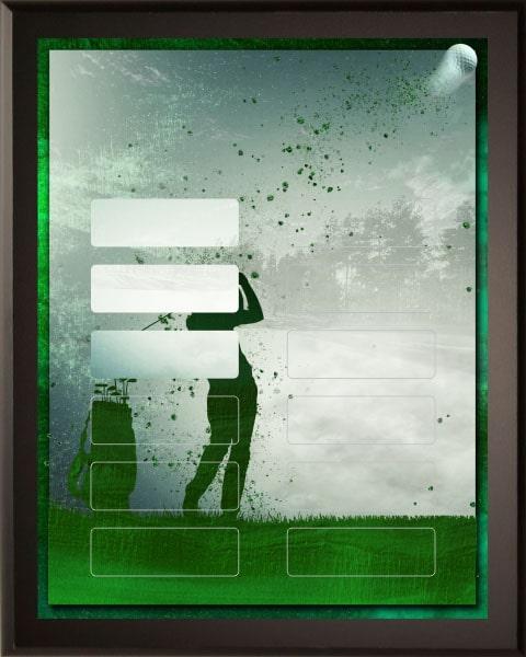 Emerald Golf - 12 Plate Perpetual Plaque