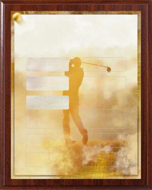Fantasy Golf - 12 Plate Perpetual Plaque