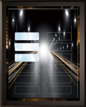 Fast Lane - 12 Plate Perpetual Plaque