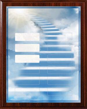 Heavenly Stairway - 12 Plate Perpetual Plaque