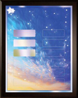 Starry Skies - 12 Plate Perpetual Plaque