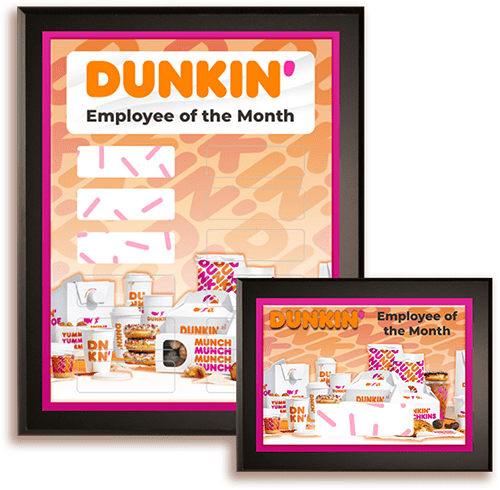 Just for you Dunkin Donuts