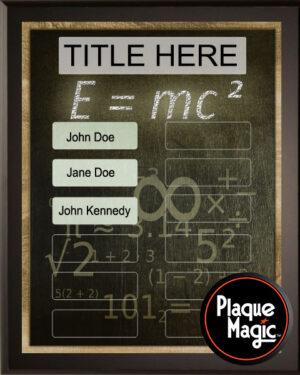 Einstein - 12 Plate Perpetual Plaque