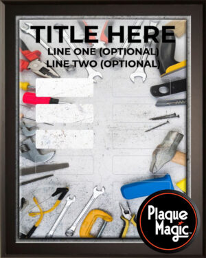 Hardware - 12 Plate Perpetual Plaque