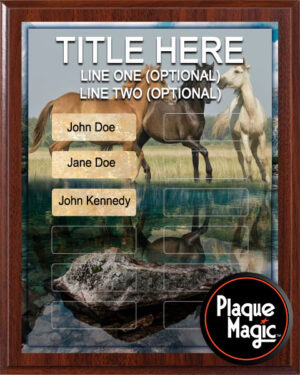 Horse Power - 12 Plate Perpetual Plaque