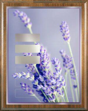 Lavender Dandy - 12 Plate Perpetual Plaque