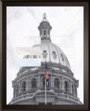 Mono Capitol - 12 Plate Perpetual Plaque
