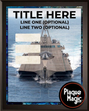 Navy - 12 Plate Perpetual Plaque