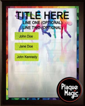 Prism Tennis - 12 Plate Perpetual Plaque