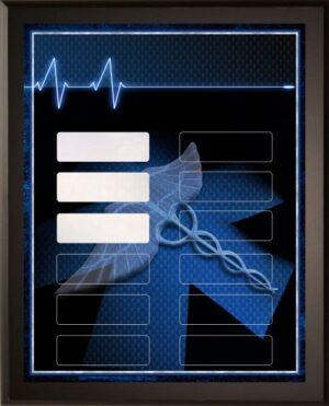 Paramedic - 12 Plate Perpetual Plaque