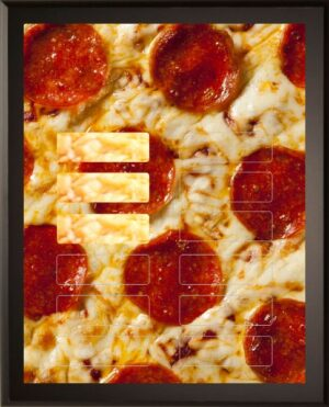 Pepperoni Pizza - 12 Plate Perpetual Plaque