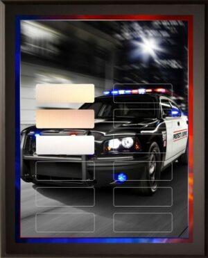 Police Pursuit - 12 Plate Perpetual Plaque