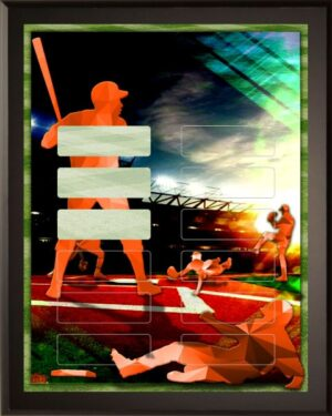 Prism Baseball - 12 Plate Perpetual Plaque