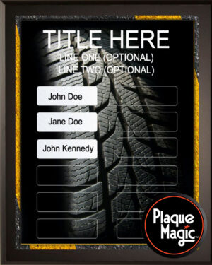 Road Warrior - 32 Plate Perpetual Recognition & Award Plaque