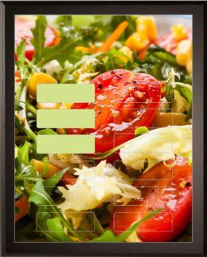 Salad - 12 Plate Perpetual Plaque