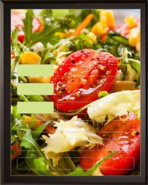 Salad - 18 Plate Perpetual Plaque