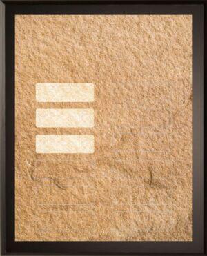 Sandstone - 12 Plate Perpetual Plaque