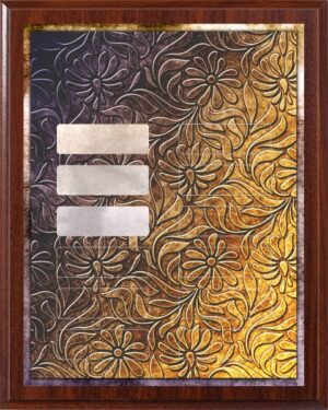 Sun Flower - Perpetual Recognition Award Plaque - 12Plate