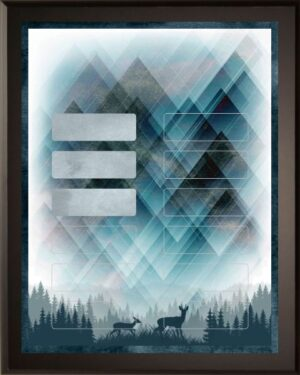 Wilderness Calling - Perpetual Recognition Award Plaque - 12Plate