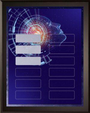 Brainiac – Perpetual Recognition Award Plaque – 12Plate