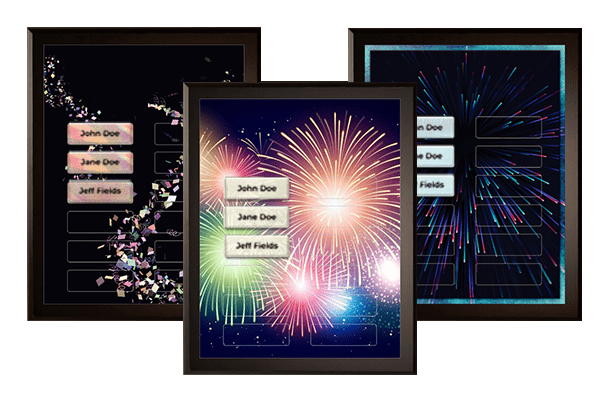Celebration Plaque Category