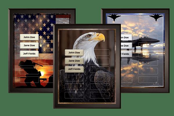 Government & Military Plaque Category