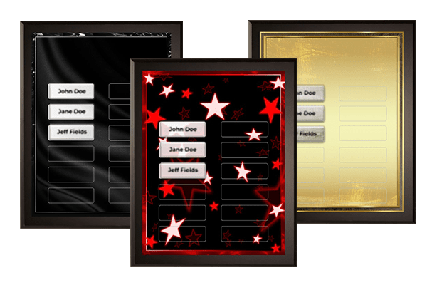 General Recognition Plaque Category