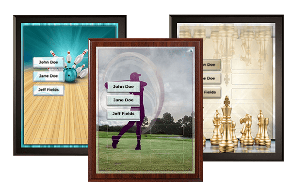 Groups & Clubs Plaque Category