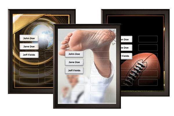Sports Plaque Category