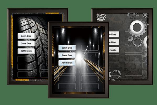 Transportation Plaque Category
