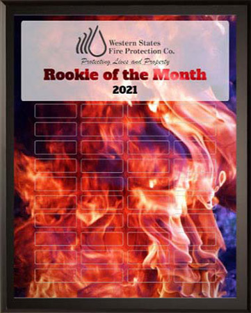 Rookie of the Month